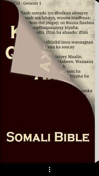 Somali Bible Free apk screenshot