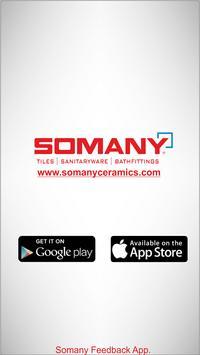 Somany Feedback App poster