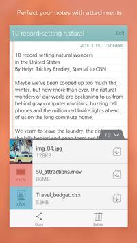 SomNote - Beautiful note app apk screenshot
