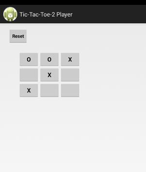 Tic-Tac-Toe-2 Player apk screenshot