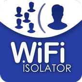 Wifi isolator icon