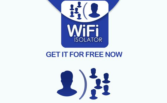 Wifi isolator apk screenshot