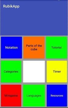 RubikApp poster