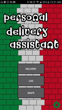 Personal Delivery Assistant poster