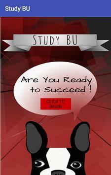 BU Study poster