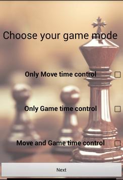 Multi Chess Clock screenshot 1