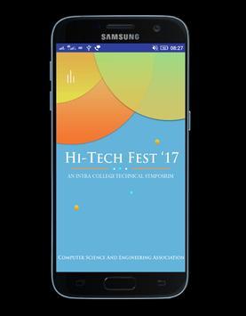 Hi - Tech Fest ' 17 poster
