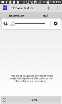 BLE Basic Test Platform poster