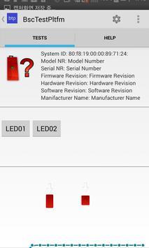 BLE Basic Test Platform screenshot 1