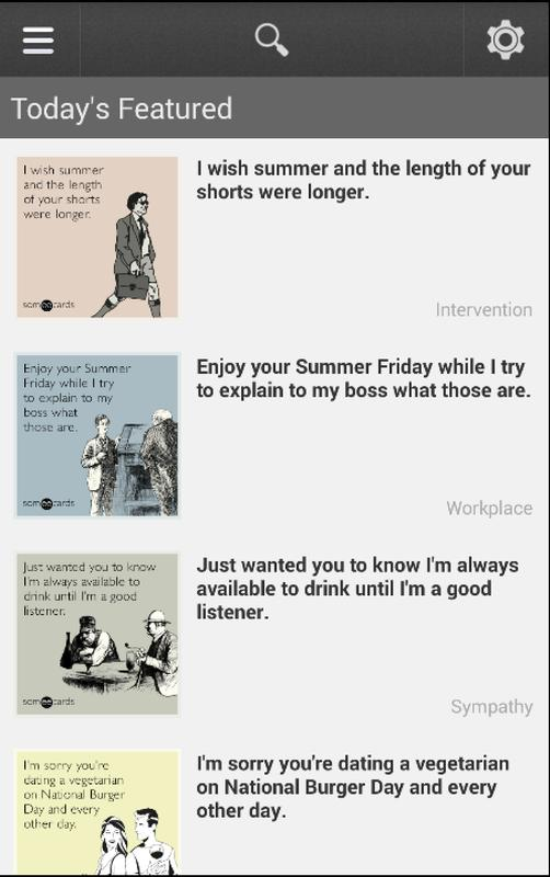 Someecards apk download free entertainment app for android someecards poster someecards altavistaventures Gallery