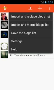 Browse & Save from tumblr Free screenshot 5