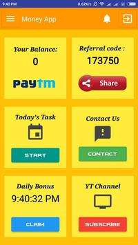 ShowTime MoneyApp screenshot 1