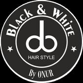 Black and White Bay Bayan Kuaförü icon