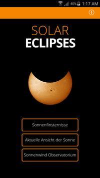 Solar Eclipses poster