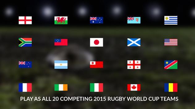 Rugby World Cup screenshot 1
