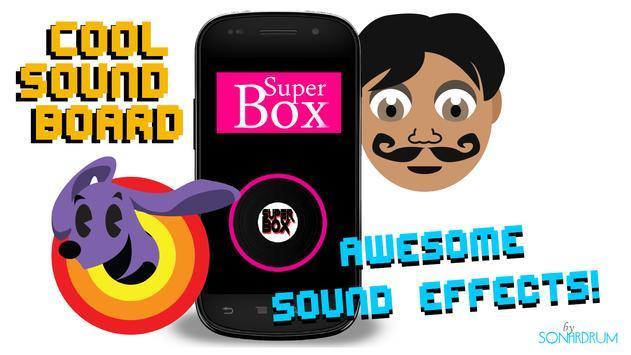 Superbox Soundboard poster