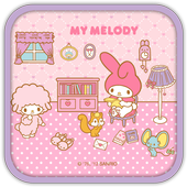Free My Melody Read the letter ícone