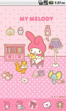 Free My Melody Read the letter Cartaz