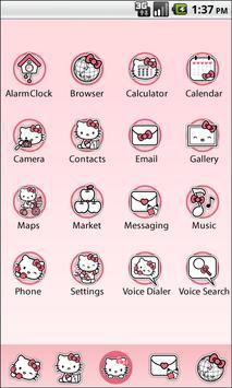 Hello Kitty Launcher screenshot 1