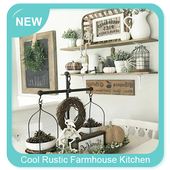 Cool Rustic Farmhouse Kitchen Styles icon