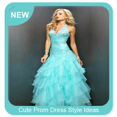 Cute Prom Dress Style Ideas icon