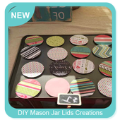 DIY Mason Jar Lids Creations icon