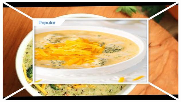 Easy Broccoli Cheese Soup Recipes screenshot 2