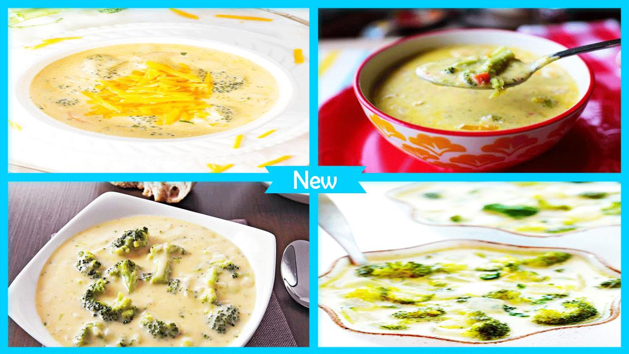Easy Broccoli Cheese Soup Recipes poster
