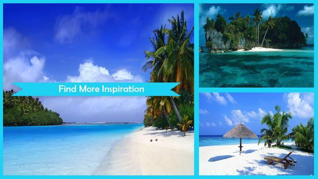 Tropical Paradise Wallpaper HD poster