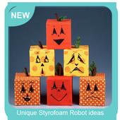 Unique Styrofoam Robot ideas icon