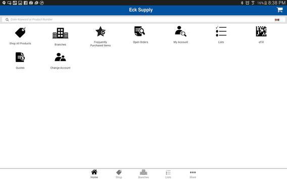 Eck Supply apk screenshot