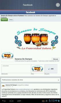 SONEROS DE SIEMPRE apk screenshot