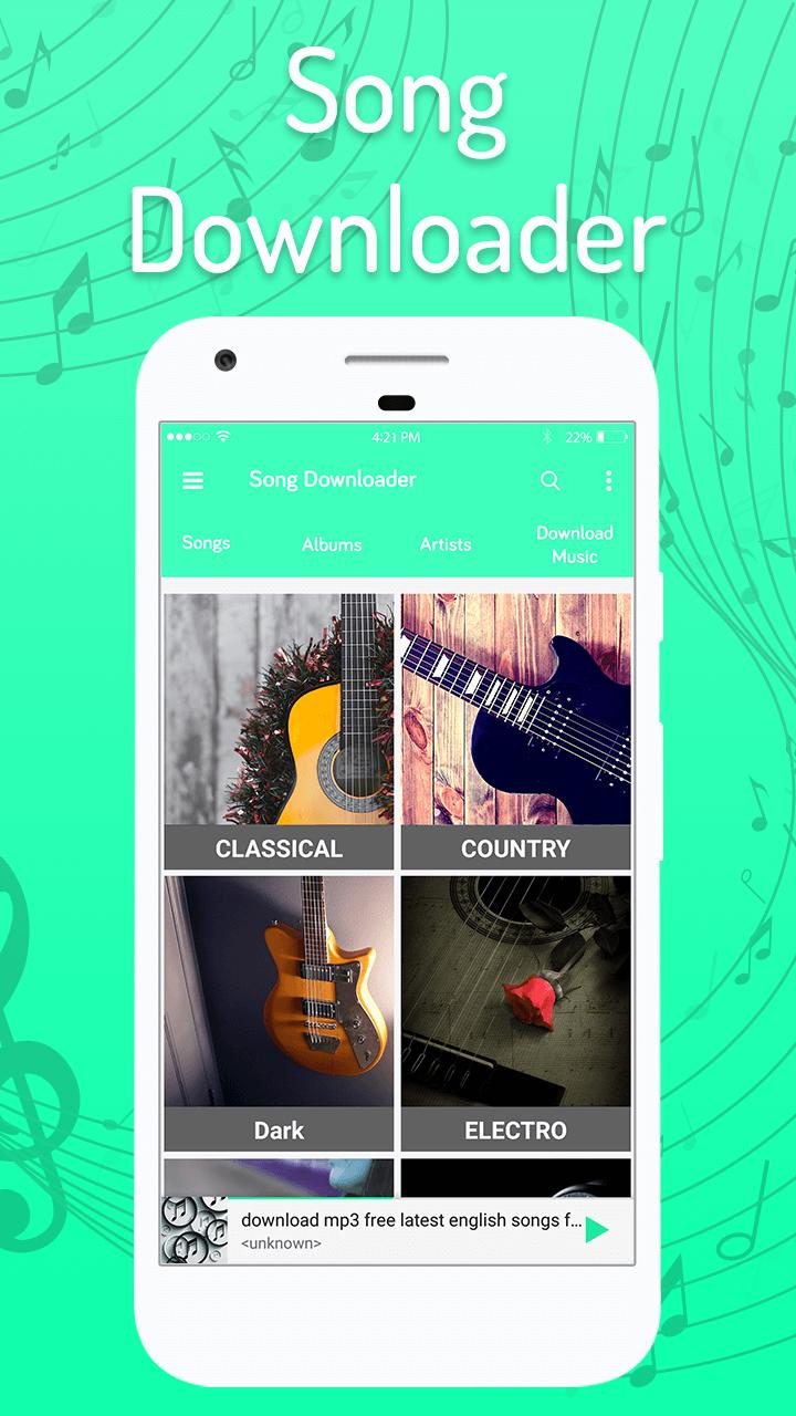 MP3 audio song download for Android - APK Download