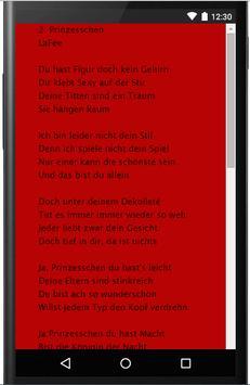 LaFee Songtexte screenshot 2