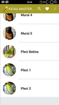 Kicau Masteran Burung Lengkap apk screenshot