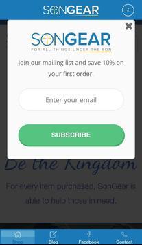 SonGear screenshot 1