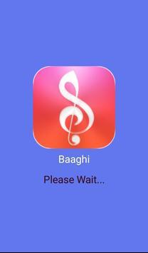 Baaghy Songs and Lyrics poster