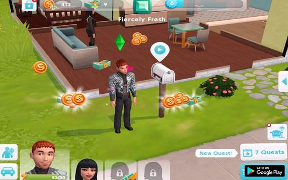 Guide The Sims Mobile New 2018 screenshot 2