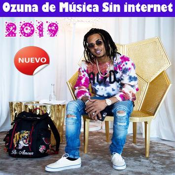 Ozuna de Música Sin internet 2019 Cartaz