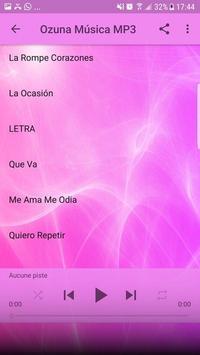 Ozuna de Música Sin internet 2019 imagem de tela 2