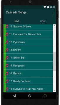 Cascada Songs apk screenshot