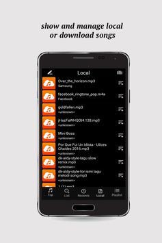 Free Music Player(Mp3 Player) apk screenshot