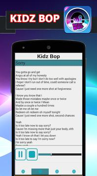 Kids Bop Songs and Lyrics apk screenshot