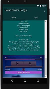 Sarah connor Songs apk screenshot