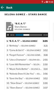 Songs Selena Gomez screenshot 3