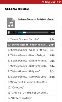 Songs Selena Gomez screenshot 2