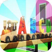 ABC Train songs for kids icon