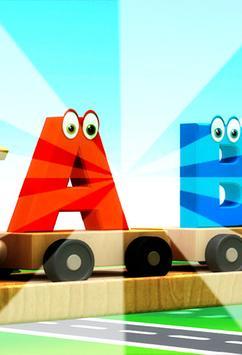 ABC Train songs for kids apk screenshot
