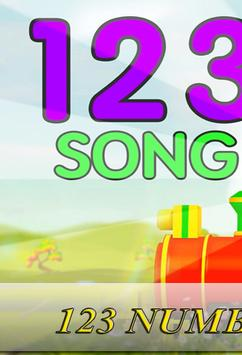 123 Number Songs for kids poster