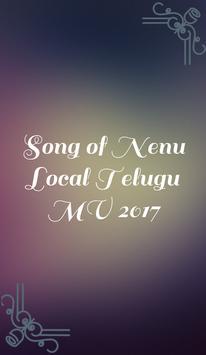 Songs of Nenu Local Telugu MV poster